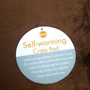 K&H Self Warming Crate Pad Brown Mocha